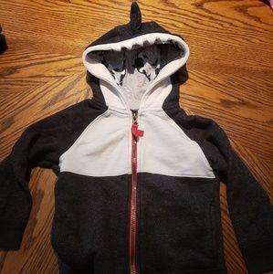 Toddler shark hoodie